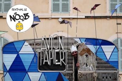 Avion Papier / Le NOOB Festival à Pont Audemer