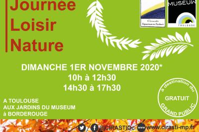 Journée du Loisir Nature 2020 à Toulouse
