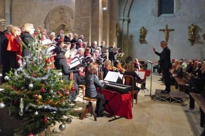 Concert de Noël du Choeur Européen de Provence à Vaison la Romaine