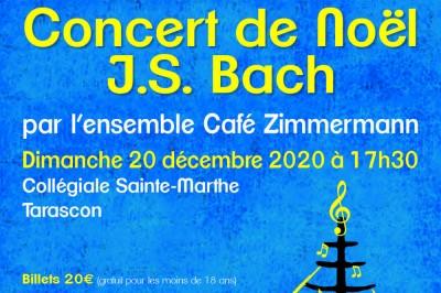 Concert de Noël Bach en fête à Tarascon