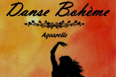 Danse Bohème, aquarelle à Paris 12ème