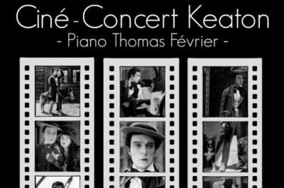 Ciné concert Buster Keaton à Paris 16ème