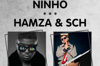 Ninho, Hamza & Sch et Leto à Nimes