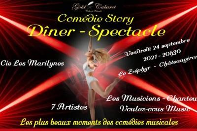 Comédie Story - Dîner Spectacle à Chateaugiron