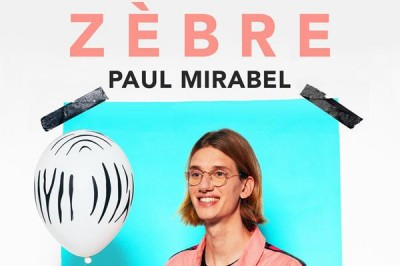 Paul Mirabel Zebre à Paris 10ème