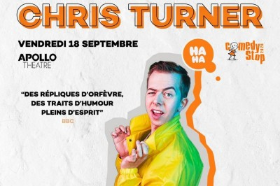 Chris Turner à Paris 11ème