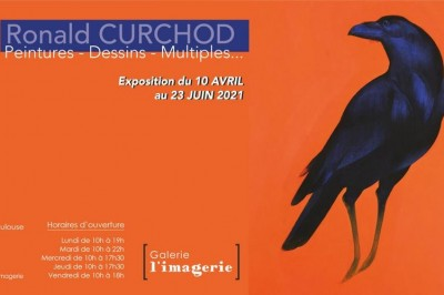 Ronald Curchod, « Peintures / Dessins/ Multiples... » à Toulouse