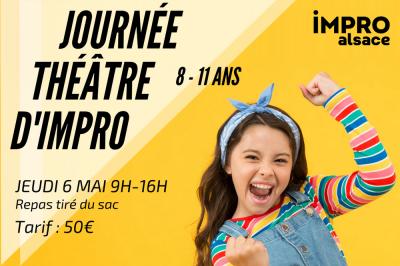 Baptème de théâtre d'impro pour enfants à Strasbourg