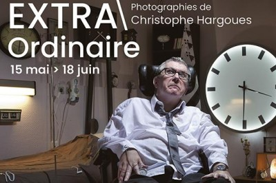 Vernissage de l'expo EXTRAOrdinaire de Christophe Hargoues à Montpellier