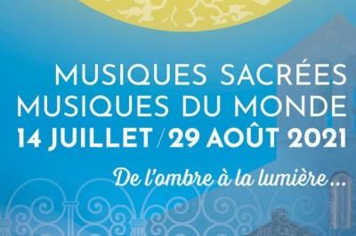 Festival de musiques sacrées - musiques du monde 2021