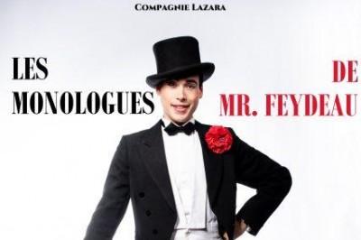 Les Monologues De Mr Feydeau à Aix en Provence