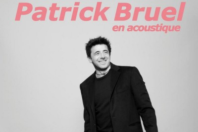 Patrick Bruel Tournée Accoustique à Marseille