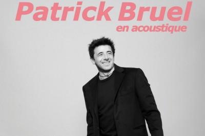 Patrick Bruel - Tournée Acoustique à Ludres