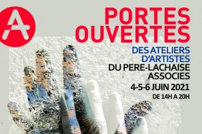 37 artistes des Ateliers du Père Lachaise Associés ouvrent leurs portes à Paris 20ème