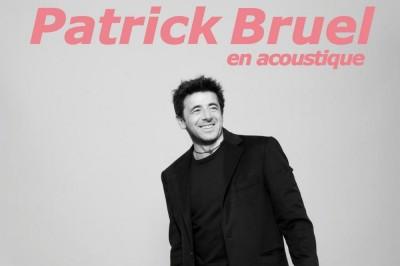 Patrick Bruel En Acoustique à Thionville