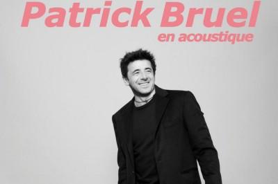 Patrick Bruel - Tournée Acoustique à Rennes