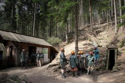 Visite de la mine d'argent Saint-Louis Eisenthür à Sainte Marie aux Mines