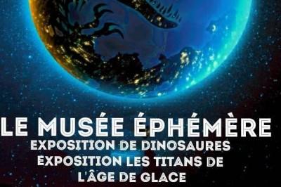 Le Musée Ephémère: Exposition de dinosaures à Colmar