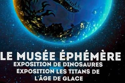 Le Musée Ephémère: Exposition de dinosaures à Metz