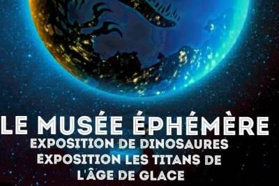 Le Musée Ephémère: Exposition de dinosaures à Nancy