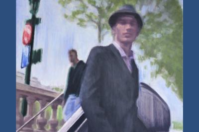 Lionel Tréboit Travelling Sur La Ville Peintures Et Dessins à Bormes les Mimosas