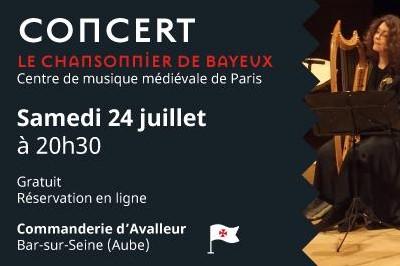 Le Chansonnier de Bayeux à Bar sur Seine