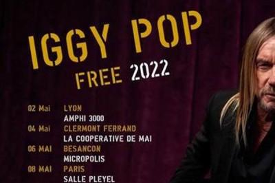 Iggy Pop à Strasbourg