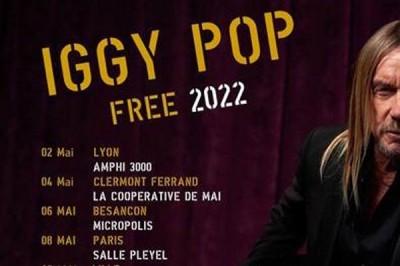 Iggy Pop à Rennes