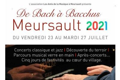 Festival Musical De Bach à Bacchus 2021