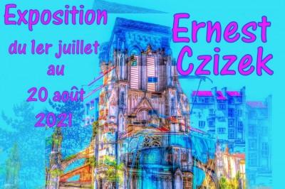 Expostion art photographique Ernest Czizek au Château de St Victor sur Loire à Roche la Moliere