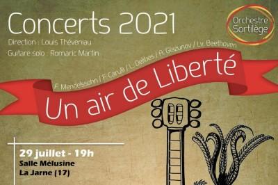 Concert St-Maixent l'Ecole - Un Air de Liberté à Saint Maixent l'Ecole