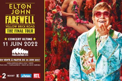 Elton John, Ultime concert en France à Nanterre