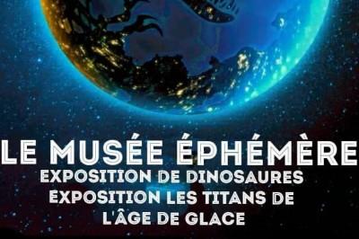 Exposition de dinosaures: Le Musée Ephémère à Casteljaloux