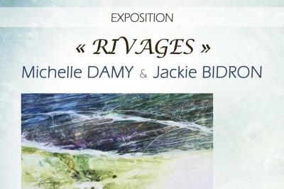 Exposition de Michelle DAMY et Jackie BIDRON à Ballan Mire