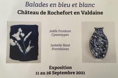 Exposition Balade en bleu et blanc à Rochefort en Valdaine