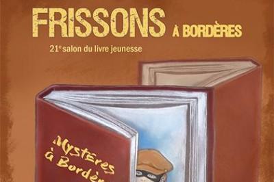 Salon du livre jeunesse Frissons à Bordères 2021