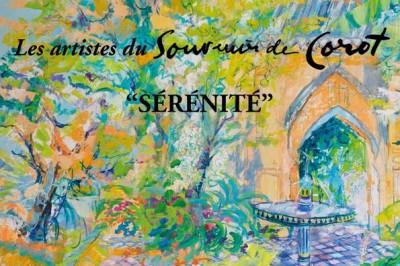 """Les Artistes Du Souvenir De Corot, """"sérénité"""" à Viroflay"""