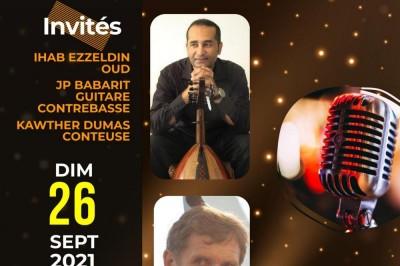 KARAOKE INVITE IHAB EZZELDIN OUDISTE à Cannes