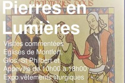 Pierres en Lumières - Samedi 9 Octobre - Concert musique médiévale à Montfort sur Risle