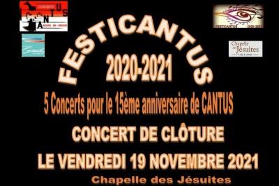 Festicantus 2020-2021 à Bourg en Bresse