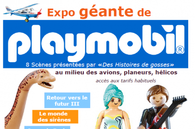 Exposition géante de playmobil à Marce