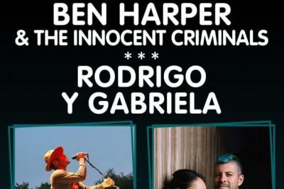 Ben Harper & The Innocents Criminals et Rodrigo y Gabriela à Nimes