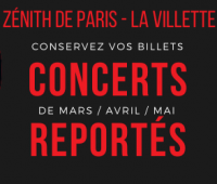 Covid-19 : Les dates reportées du Zénith de Paris