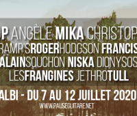Iggy Pop, Angèle, Francis Cabrel à Pause Guitare 2020