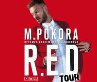 Le rouge, couleur du printemps 2015 avec la nouvelle tourn�e de M Pokora