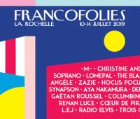Les Francofolies de la Rochelle ajoutent 22 noms !