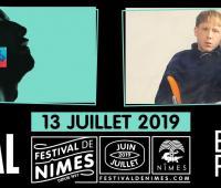 Lomepal et Eddy de Pretto au Festival de Nîmes 2019