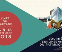 Ne loupez pas les Journées Européennes du Patrimoine 2018