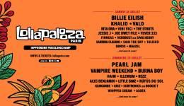 Billie Eilish, Pearl Jam et Vald à Lollapalooza 2020
