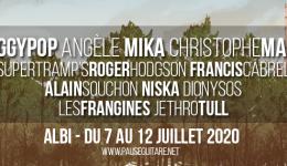 Pause Guitare 2020 : 11 premiers noms !